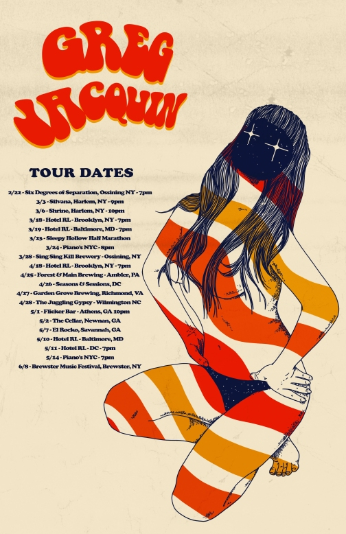 Greg tour dates 11x17